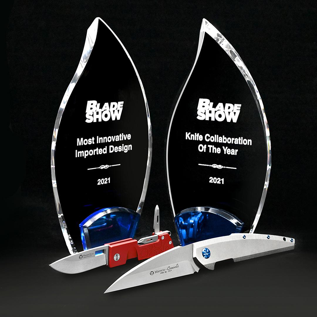 Blade Show AWARDS 2021 Doppio riconoscimento